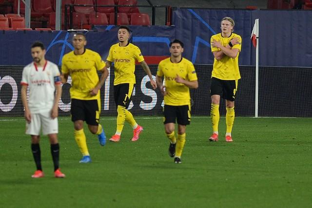 Haaland rozbił Sevillę. Borussia bliżej ćwierćfinału