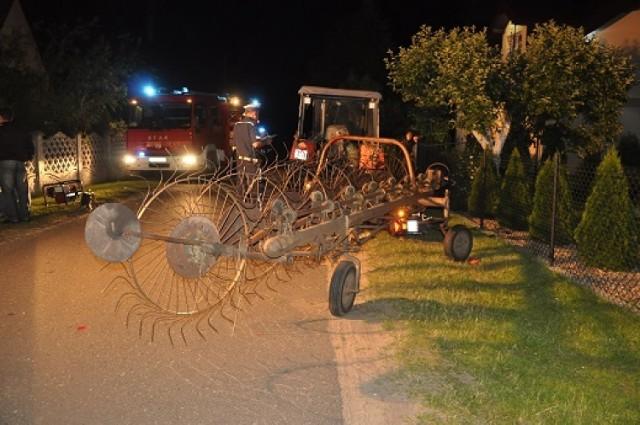 Śmiertelny wypadek w Rzuchowie: Nie żyje motorowerzysta