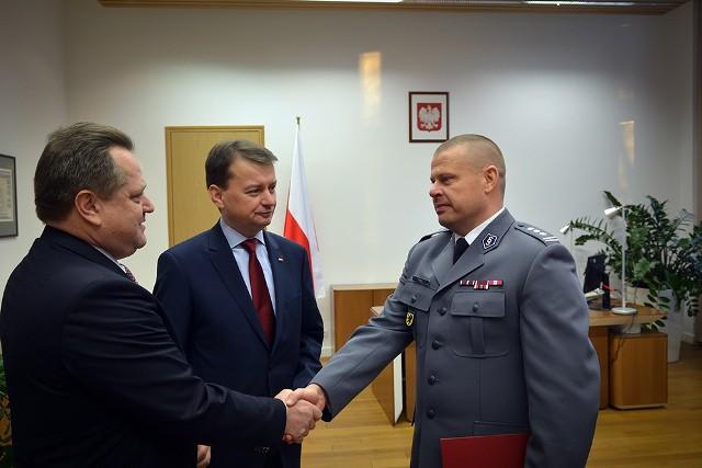 Zbigniew Maj został nowym Komendantem Głównym Policji