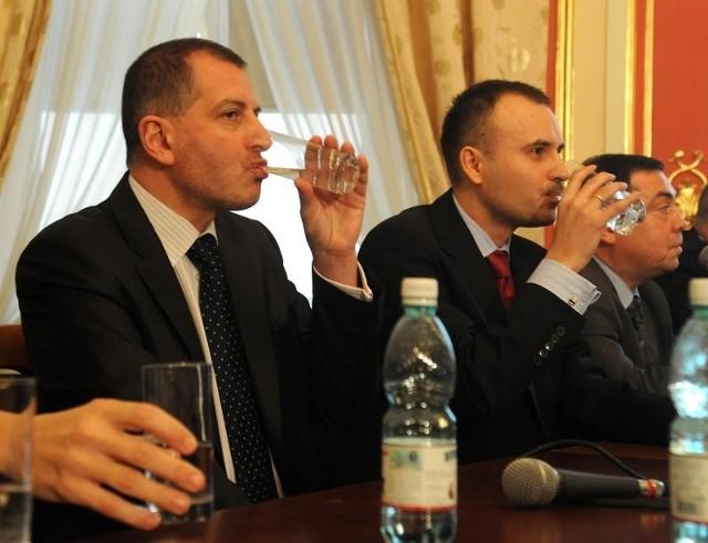 Rafał Dutkiewicz (z lewej) jest nieformalnym szefem Polski XXI. Norbert Obrycki (z prawej) pełni funkcję przewodniczącego stowarzyszenia Szczecin XXI, które jest regionalnym odpowiednikiem ogólnopolskiego ugrupowania.