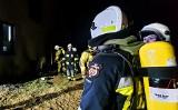 Nocny ogień w dolinie Dunajca. Zapalił się dom w Kadczy