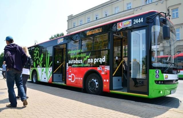 Pierwszy autobus na prąd pojawił się w Lublinie w 2015 r.