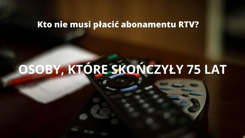 Abonament RTV 2021 - zwolnienia. Te osoby nie muszą płacić w 2021 roku [lista - 9.05]