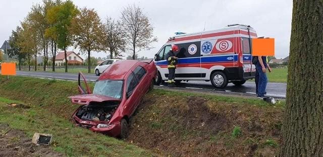 W wypadkach drogowych w powiecie przasnyskim trzy osoby doznały obrażeń ciała