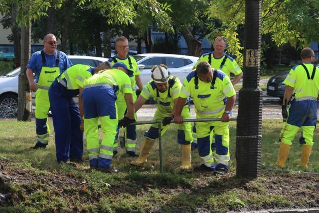 Rusza remont kanalizacji koło placu Grunwaldzkiego. Uwaga na utrudnienia