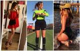 Piękna i stanowcza. Natalia Wawrzyniak sędziuje mecze piłki nożnej w niższych ligach [ZDJĘCIA]