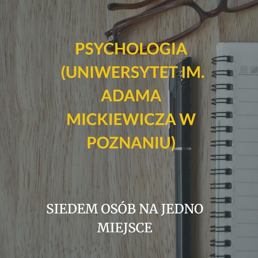 Na kierunku psychologia studenci początkowo uczą się...