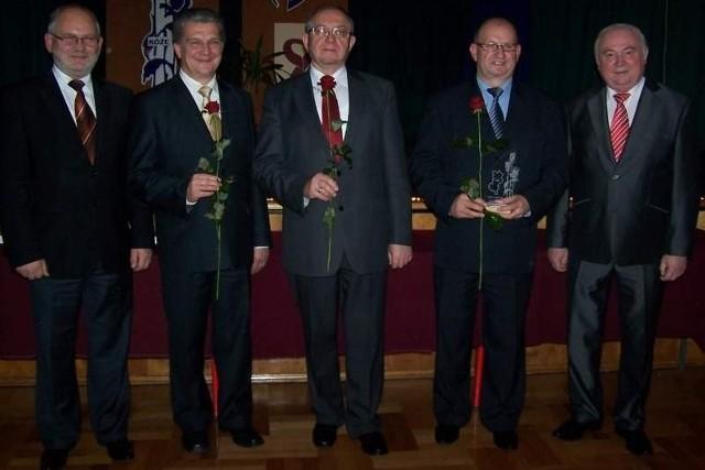 Na zdjęciu od lewej: Stanisław Belka, Henryk Zug, Wojciech Łonak, Andrzej Pyziak, Jan Kus.