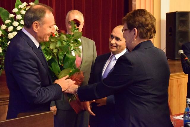 Inauguracyjna sesja Rady Miasta Olesna.