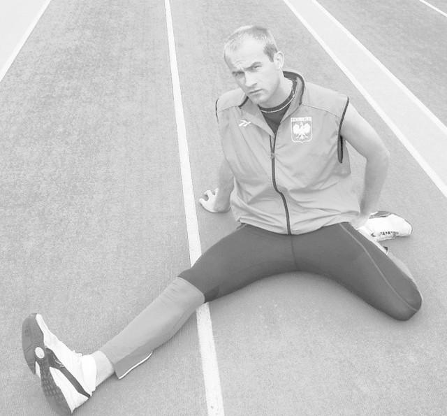 Tomasz Wrzesiński: - Kontuzja okazała się na tyle dokuczliwa, że w dużym stopniu uniemożliwiała mi dalszy normalny cykl treningowy i głównie samymi startami starałem się podtrzymać formę.