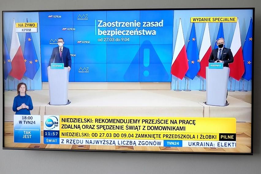 Sytuacja pandemiczna w Polsce nie jest najlepsza. W...