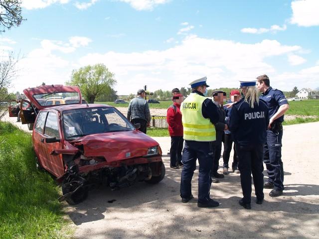 Wypadek w Dylewie, 22.05.2020