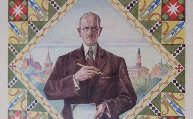 Feliks Lachowicz – malarz z Drohobycza, autoportret.