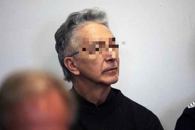 Ksiądz Piotr M podczas procesu w Zgorzelcu