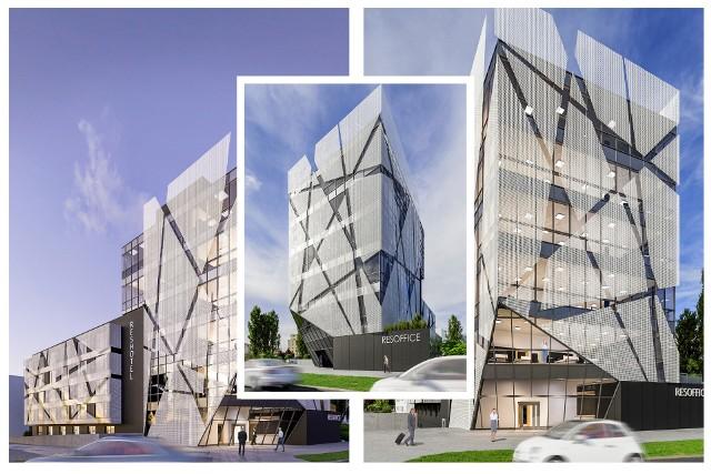 """Budynek robi wrażenie przede wszystkim za sprawą """"lewitującej elewacji""""."""