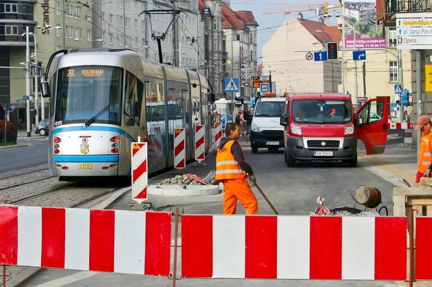 Przystanek wiedeński przy Piłsudskiego jest już prawie...