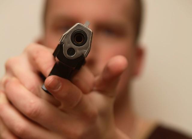 Strzelanina w Białymstoku. Na osiedlu Wygoda kierowca strzelił z broni do innego kierowcy