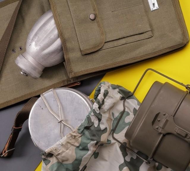 Zobacz, co można kupić na wyprzedaży w magazynie Agencji Mienia Wojskowego w Bydgoszczy. Prezentujemy wybrane towary oraz ich ceny po rabacie. Przesuń zdjęcie gestem lub kliknij w strzałkę >>>