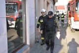 Palił się sklep przy ul. Młyńskiej w Chojnicach