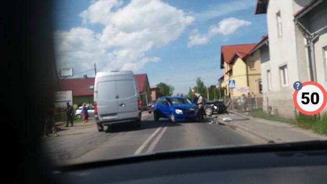 Wypadek w Golędzinowie