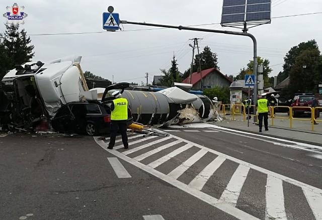 Wypadek w Bełżcu