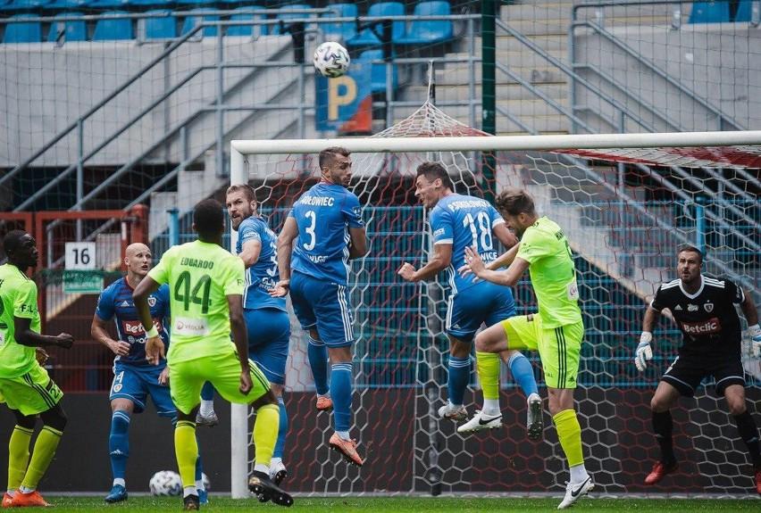 Piast Gliwice rozegrał w sobotę sparing z MFK Karvina