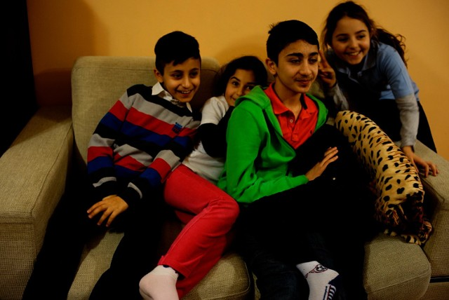 Syryjscy uchodźcy, którzy na początku tego roku znaleźli schronienie w Poznaniu