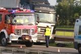 Kolejny wypadek na drodze Wrocław - Kłodzko. Zderzyły się dwie ciężarówki