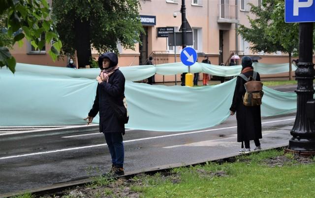 Pikieta w obronie drzew przy ul. Lipowej w Lublinie