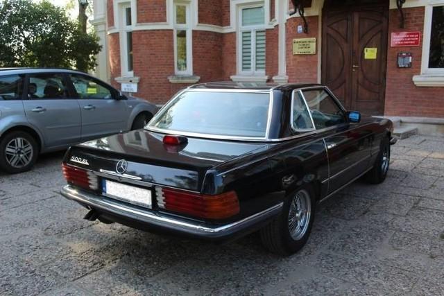 Zabytkowy Mercedes Benz Zenka Martyniuka