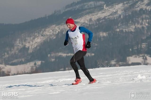Piotr Koń z Fałkowa potwierdził wysoką dyspozycję w biegach górskich.
