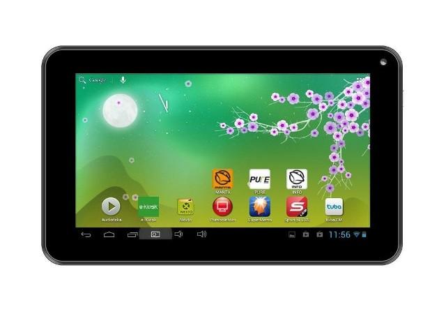 Manta 3G Quad CoreTablet Manta 3G Quad Core jest już dostępny w sprzedaży