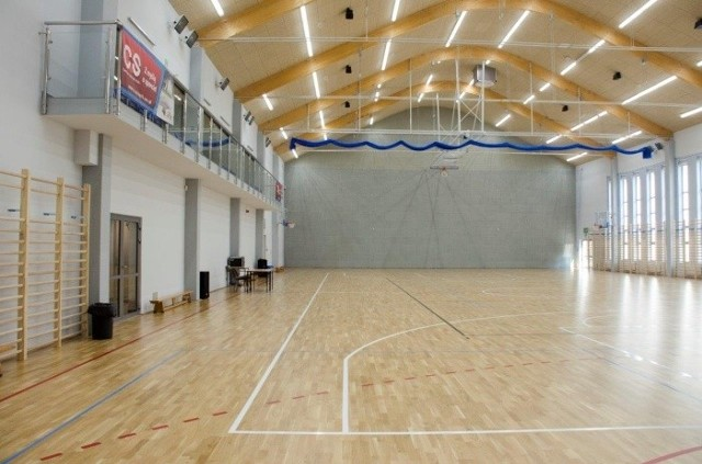 Nowa hala sportowa COS w Szczyrku