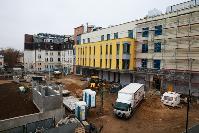 Prace przy dokończeniu rozbudowy BCO idą pełna parą.  Wszystko wskazuje na to, że inwestycja skończy się w terminie zaplanowanym na koniec kwietnia 2015 roku.