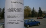 Oświęcim. Parking na Bulwarach opustoszał