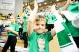 Znajdź siebie na zdjęciach z meczu Stelmet Ene BC Zielona Góra kontra Polpharm Starogard Gdański [ZDJĘCIA KIBICÓW]
