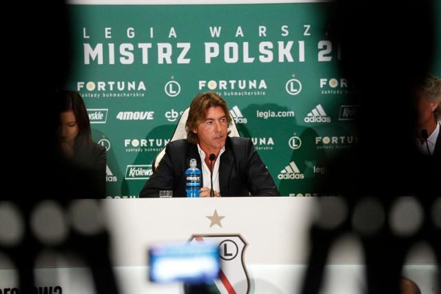 Oficjalnie: Ricardo Sa Pinto trenerem Legii Warszawa