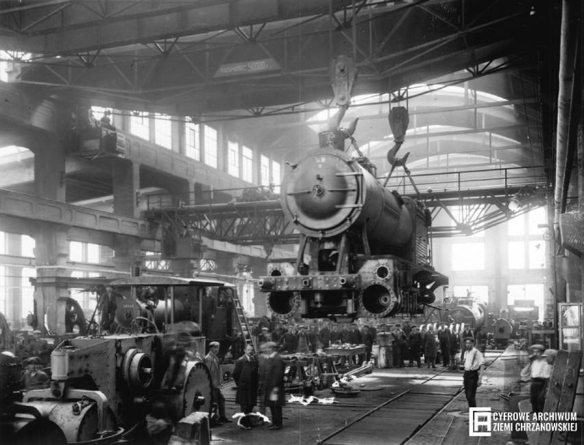 Pierwsza polska fabryka lokomotyw parowych, Chrzanów, 1923...