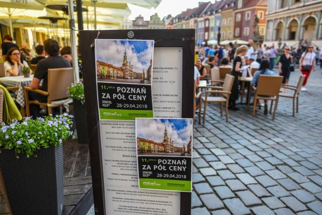 Wiele miejsc i atrakcji w Poznaniu jest dostępnych za 50 procent regularnej ceny lub całkowicie bezpłatnie. Z promocji korzystają nie tylko poznaniacy.