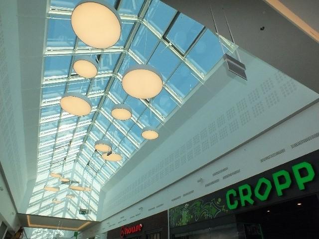 Wnętrza Centrum Galardia tuż przed otwarciem