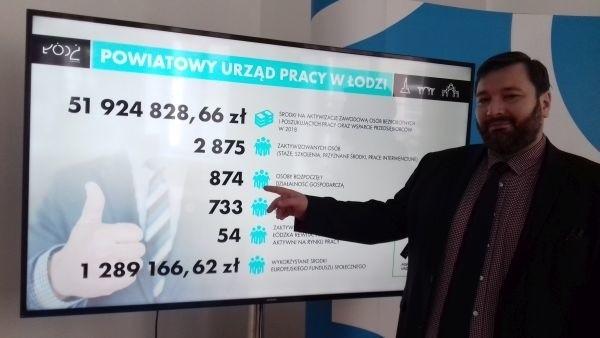 Piotr Bors, dyrektor Biura Promocji Zatrudnienia i Obsługi Działalności Gospodarczej.
