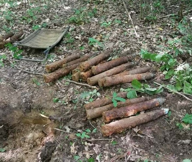 Niewybuchy znaleziono w gminie Rzewnie