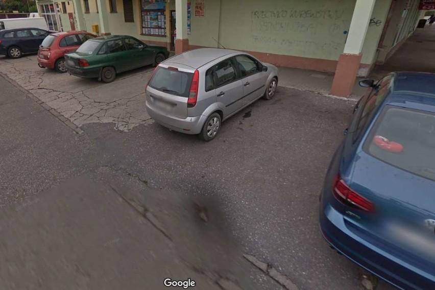 Przyłapani przez kamerę Google Street View w Bydgoszczy