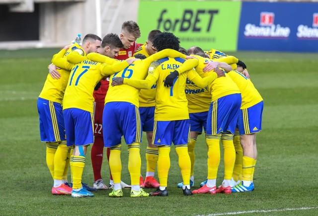 Piłkarze Arki Gdynia potrafią osiągać znakomite wyniki w Pucharze Polski