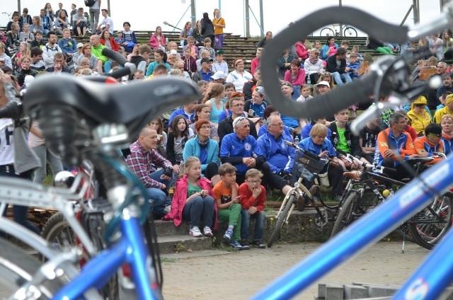 To była imponująca liczba rowerzystów.