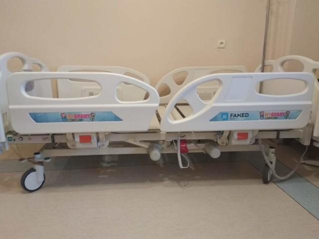 Łóżka od Wielkiej Orkiestry Świątecznej Pomocy będą służyły pacjentom Radomskiego Szpitala Specjalistycznego.