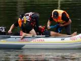 Akcja służb na Lewitynie. Strażacy, policja i strażnicy miejscy o bezpieczeństwie nad wodą. ZDJĘCIA