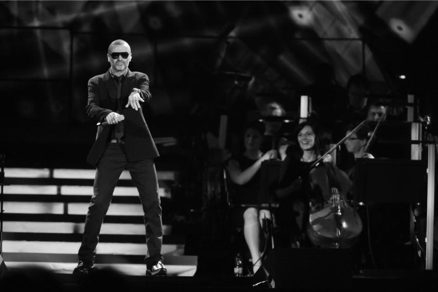 George Michael podczas koncertu we Wrocławiu