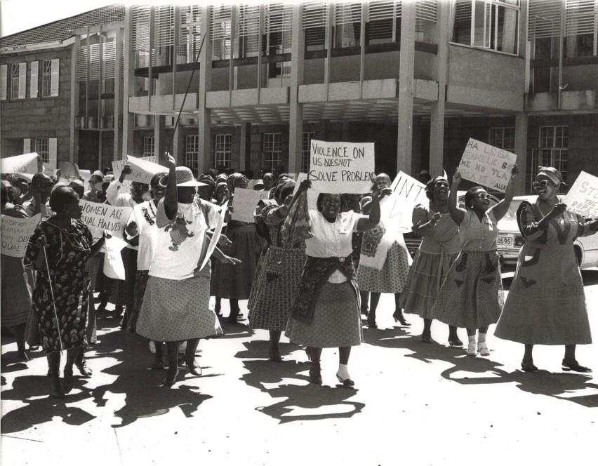 Marsz kobiet w Pretorii, Republika Południowej Afryki, 9...