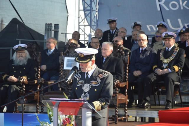 Inauguracja roku akademickiego w Uniwersytecie Morskim w Gdyni z udziałem ministra Jarosława Gowina i posłanki Doroty Arciszewskiej-Mielewczyk  - 6 października 2018 r.